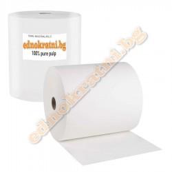 Индустриална хартия за почистване двупластова - джъмбо ролка