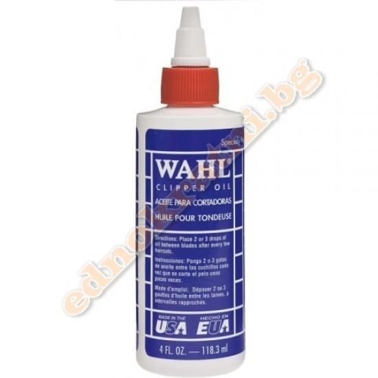 Wahl масло за смазване на машинки за подстригване  и тримери 118мл.