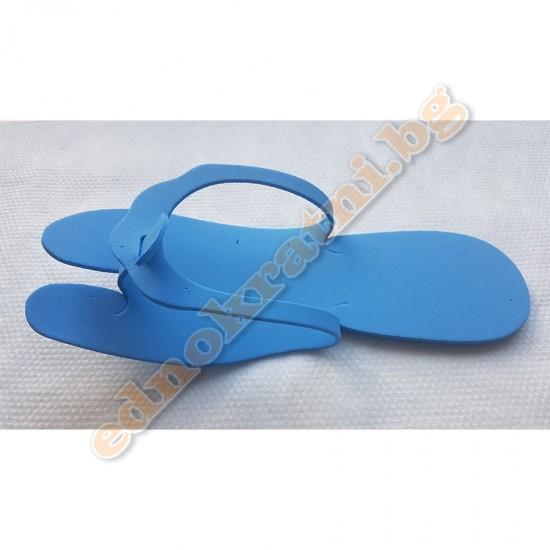 Еднократни чехли за педикюр 100бр. (50 чифта) 2мм. image