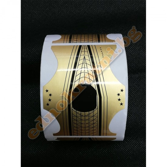 Изграждащи форми за ноктопластика 500бр. image