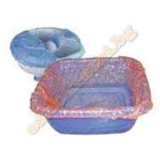 Еднократни найлони с ластик за педикюрна вана 50бр. image