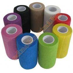 Кохезивен (ластичен) бинт самозалепващ  -5см.х4.5м.  различни цветове
