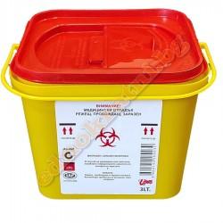 Контейнер за биологични отпадъци 3л.