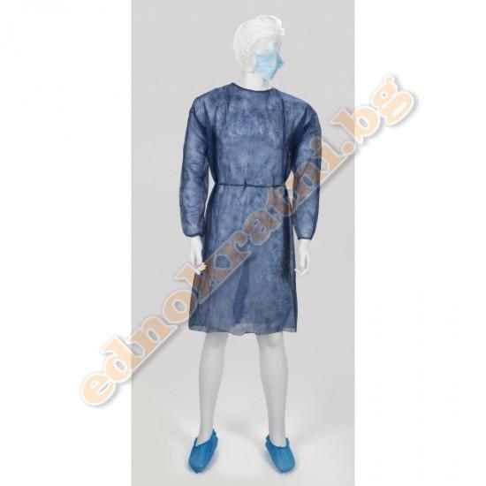 Кимоно от нетъкан текстил за еднократна употреба image