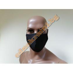 Трислойна предпазна маска с филтър за многократрна употреба
