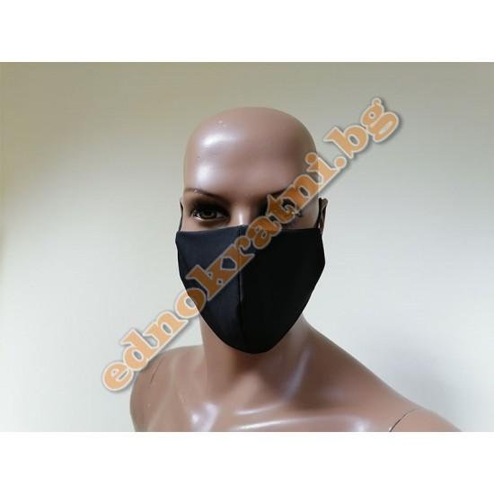 Трислойна предпазна маска с филтър за многократрна употрба image