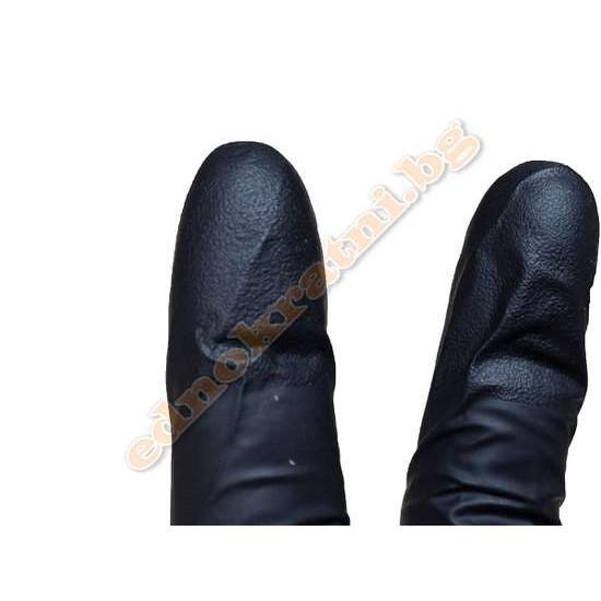 Нитрилни ръкавици черни 100бр- Индустриални-за еднократна употреба image