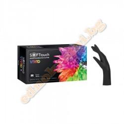 Нитрилни ръкавици Vivid Черни - за еднократна употреба