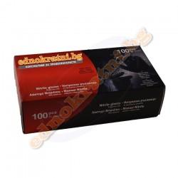 Нитрилни ръкавици черни 100бр S-M-L-XL- Индустриални-за еднократна употреба