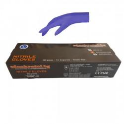 Нитрилни ръкавици индиго М-L-XL - за еднократна употреба