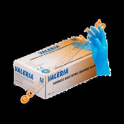 Нитрилни ръкавици Сини Valeria S - за еднократна употреба
